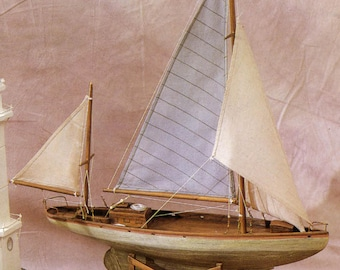 Yawl Corsaro Wooden Ship with stand (FS128)