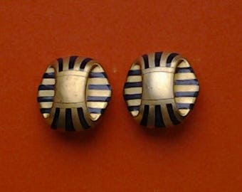 ESCADA  egyptian earrings from the 90s.     Mother's Day gift