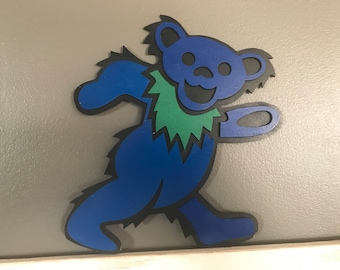 Handmade Grateful Dead Blue Bear