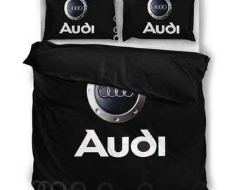 AUDI SHADOW RINGS Bedding Set