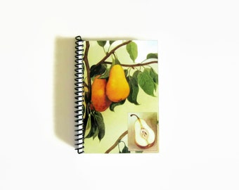 Pear Notebook A6 Spiral Bound