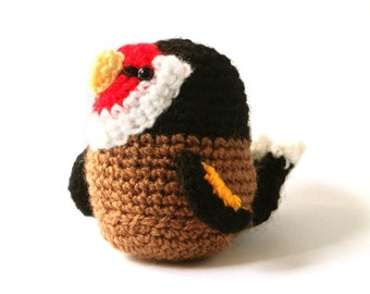 Amigurumi Pattern - Goldfinch - Bird Crochet