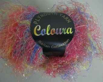 Coloura Knitting Yarn by Plymouth Eyelash Yarn Fur Yarn