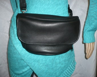 LEATHER FANNY PACK and Shoulder Bag with Built In Organizer Style #700