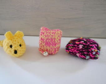 New Cats Gift, Cat Owners Present, CatToys, Kitten Toys, Bell Toys, Catnip Toys, Welcome Home Kitty