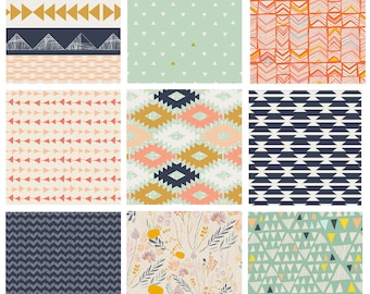 Southwestern Fabric Bundle | Native American Fabric | Aztec | Arizona and Morning Walk by Art Gallery Fabrics | April Rhodes | Leah Duncan
