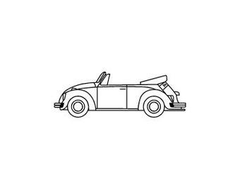 VW Volkswagen Cabrio Fehler Käfer Stempel