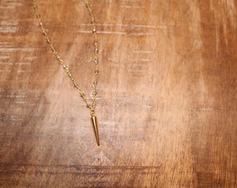 Labradorite Spike Rosary Chain Necklace
