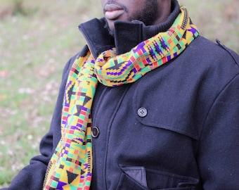 Northern Ashanti Kwasi scarf with Fringe