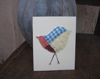 bird cards patchwork