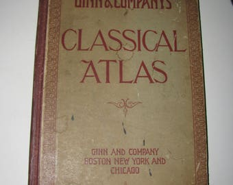 Classic Atlas - Published 1905