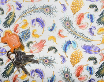 Paper ROSSI - FEATHERS -made in Italy