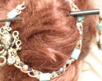 Freindly Octopus Hair Pin