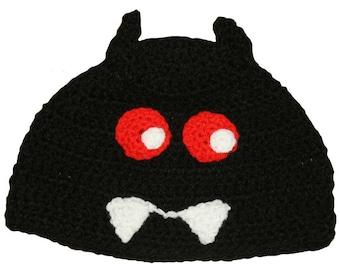 Hand Crocheted Gloomy Bear Hat HH 140