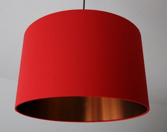 "Lampshade ""Purple red-copper"" (purple-copper)"