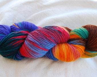 handdyed Yarn, 100g/ 3,5oz , colour Jane 2