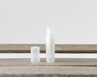 5ml Glass Mini Sprayer - Plastic Case, Mini Body Mister, Essential Oil Perfume Sprayer, Travel Size Body Mist Sprayer, Empty Mini Sprayer