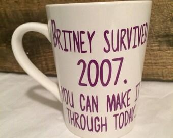 2007 Britney mug