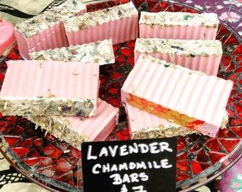 Lavender Chamomile goat's Milk Soap