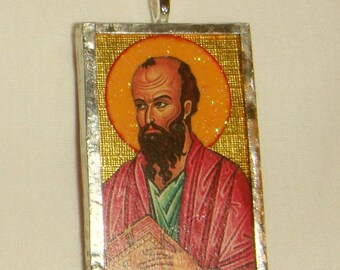 St Paul the Apostle Pendant inv1690