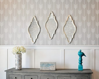 Arrows Wall Stencil Reusable
