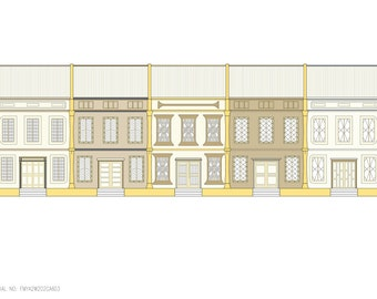 Classical Contemporary Malaysian shop facade (FMYA2W2D2C603)