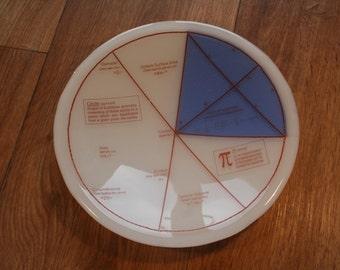 Geektastic cercle / Maths / Pi / équations bol - avec Segment de couleur différente