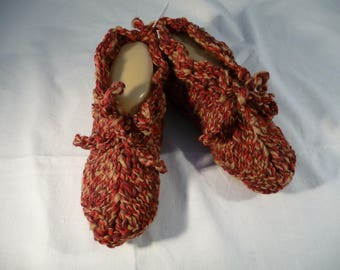 booties, T.38/39, bed or inside - perfect for cold and chilly-