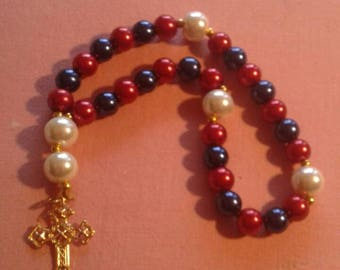 Patriotic Anglican Protestant rosary