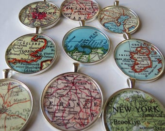 Customized Valentines Present, Vacation Ornament Set, Trip Ornament, Gift for Traveler, Travel Lover Gift, Holiday Housewarming, Rome Gift