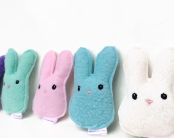 Bunny Babies | Cat Toys | Organic Catnip Toy | Bunny Toy | Cute Cat Toy | Gift for Cat | Kawaii | Catnip Toy | Cat Gift | Easter