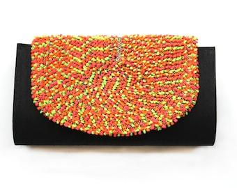 Black Kutch Clutch Sling Bag