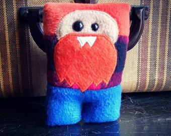 Lumberjack Nubbin - Orange Beard - Made To Order