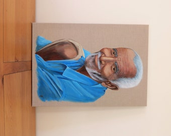 Indian man - Original painting