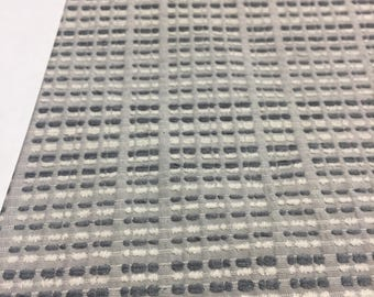 "Silver NFP BINARY CODE perfect for Bedding 57"" Fabric by the yard Multipurpose"