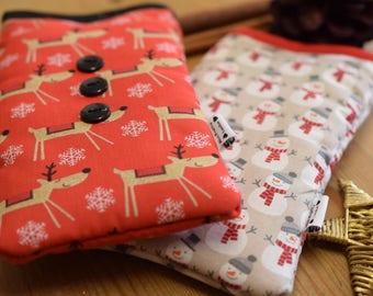 Christmas Limited Edition Prints -  Mobile Phone Cell Phone Socks