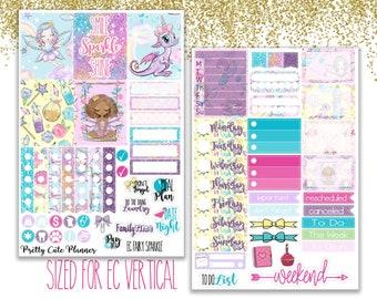 Fairy Planner stickers - Planner stickers - Fairy Stickers -  Functional stickers - Fairy Planner Stickers - Sparkle Fairy - Fits EC Vertica