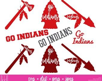 9 Indians SVG - Go Indians - Indians Football - High School or Little League Team - Indian svg - Indians Baseball