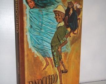 1968 Pinocchio by Collodi Educator Classic Library Book Vol 3 ~ Classics Press