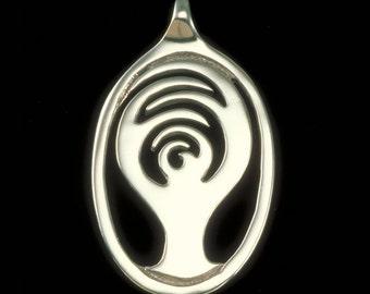 Bodhi Tree Pendant (Sm), Bodhi Tree Necklace, Yoga & Meditation Collection, K Robins Designs