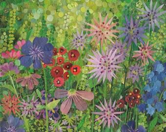 whimsical garden (8x10 print)