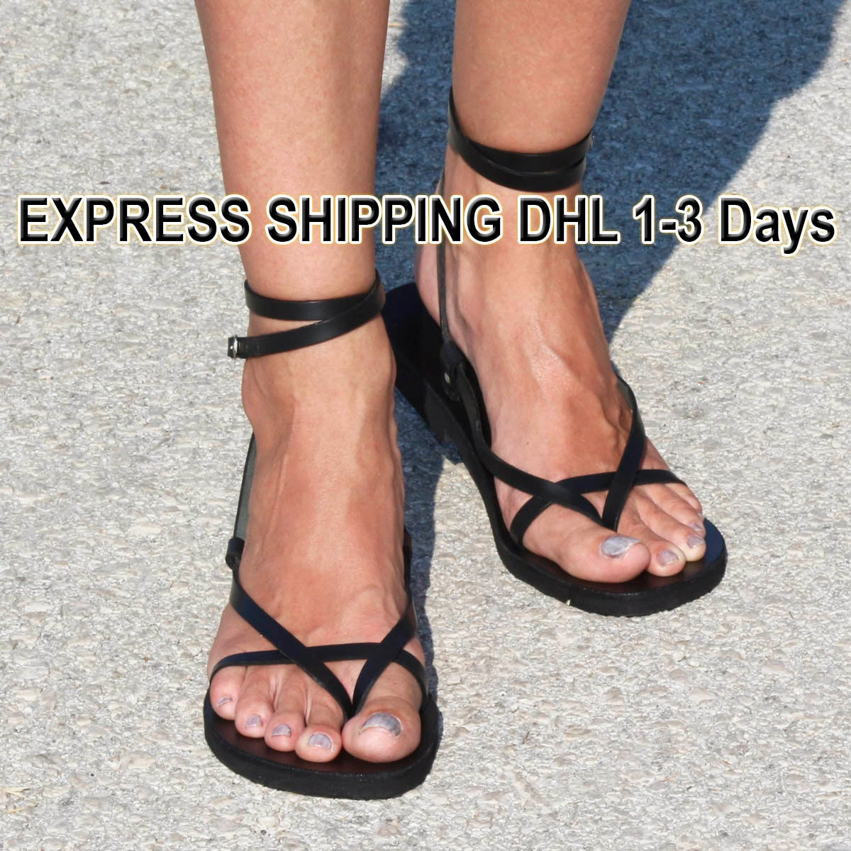 SUNSHINE Leather sandals/ unisex sandals/ strappy sandals, ancient Greek sandals/ sexy shoes/ boho sandals/ double ankle strap