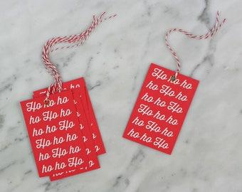 Christmas Gift Tags, Gift Tags, Santa Gift Tags, Swing Tags.