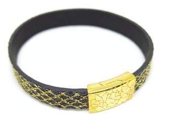 """Wristband leather """"ORIENT"""""""