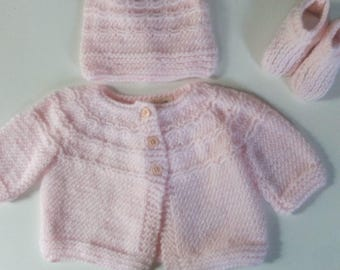 Baby Girl Sweater Layette