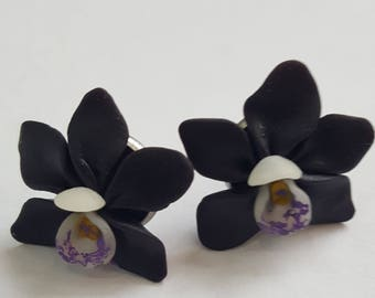 Earrings ORCHID
