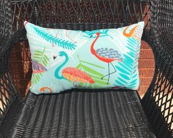 Flamingo Capri Lumbar Pillow Water Resistant