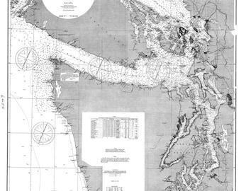 Sea Coast and Interior Harbors of Washington 1894