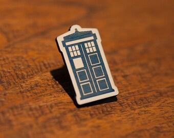 Doctor Who TARDIS Pin - Dalek Cybermen Sonic Screwdriver Rose Bad Wolf Gallifrey Time Lord Companion K9 War Doctor Tom Baker Torchwood Clara
