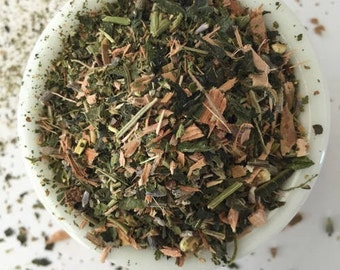 Organic Migraine Relief tea- reduce headaches and migraines naturally